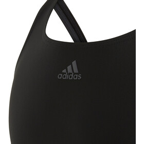 adidas Fit 3S Swimsuit Kids black/white